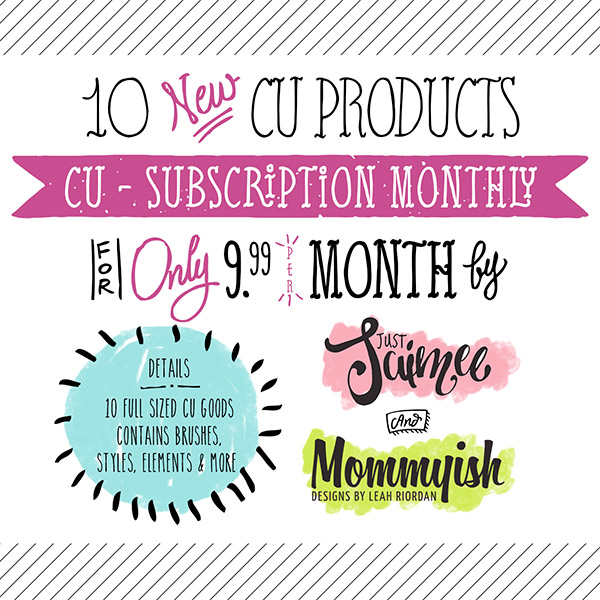 CU Subscription - January 2016