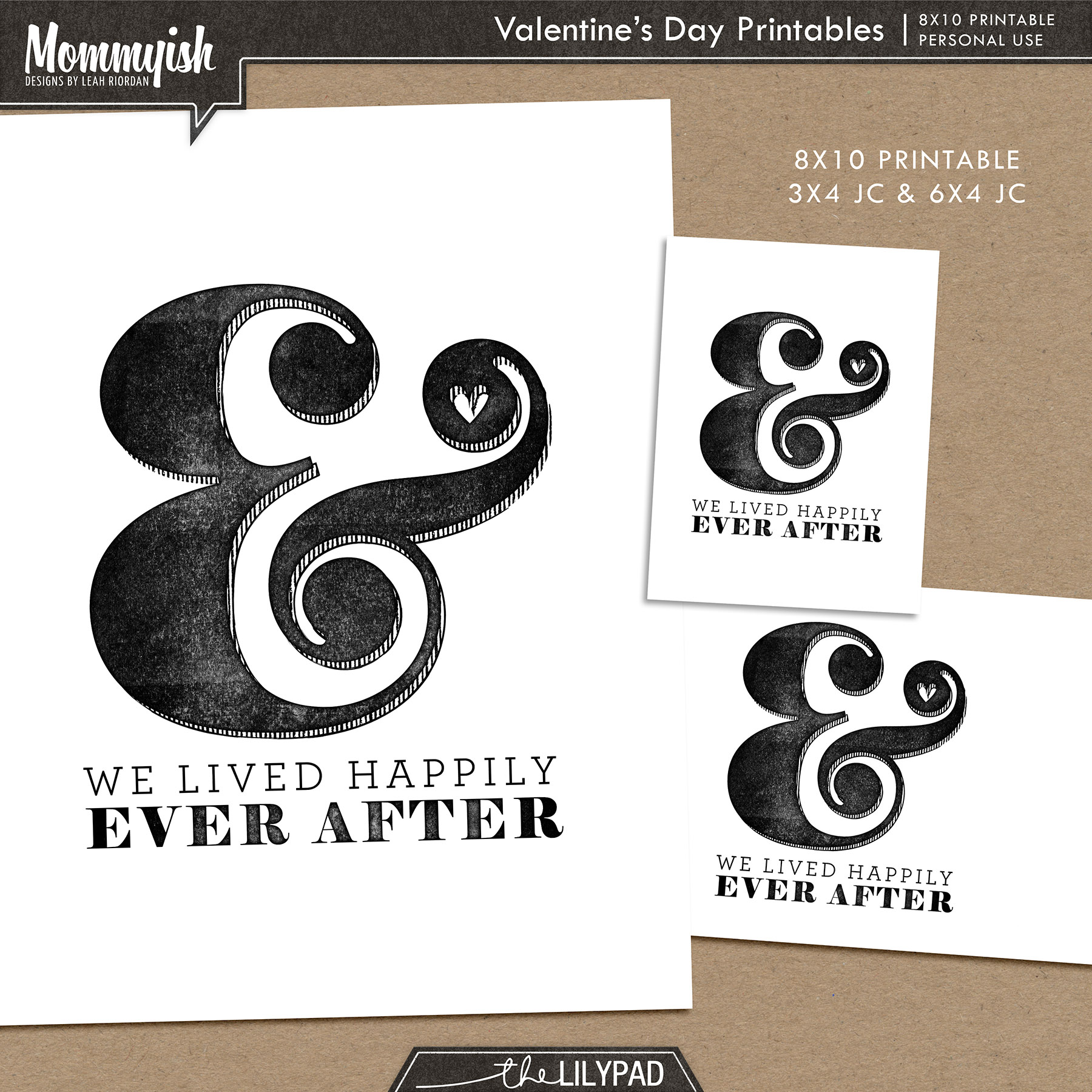 Happily Ever After Printable Freebie